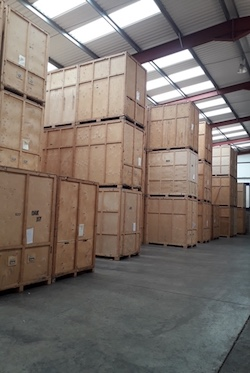 Pretlove's storage warehouse
